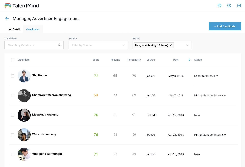 一條龍處理招聘流程 AI 招聘平台 TalentMind 新增篩選及配對功能