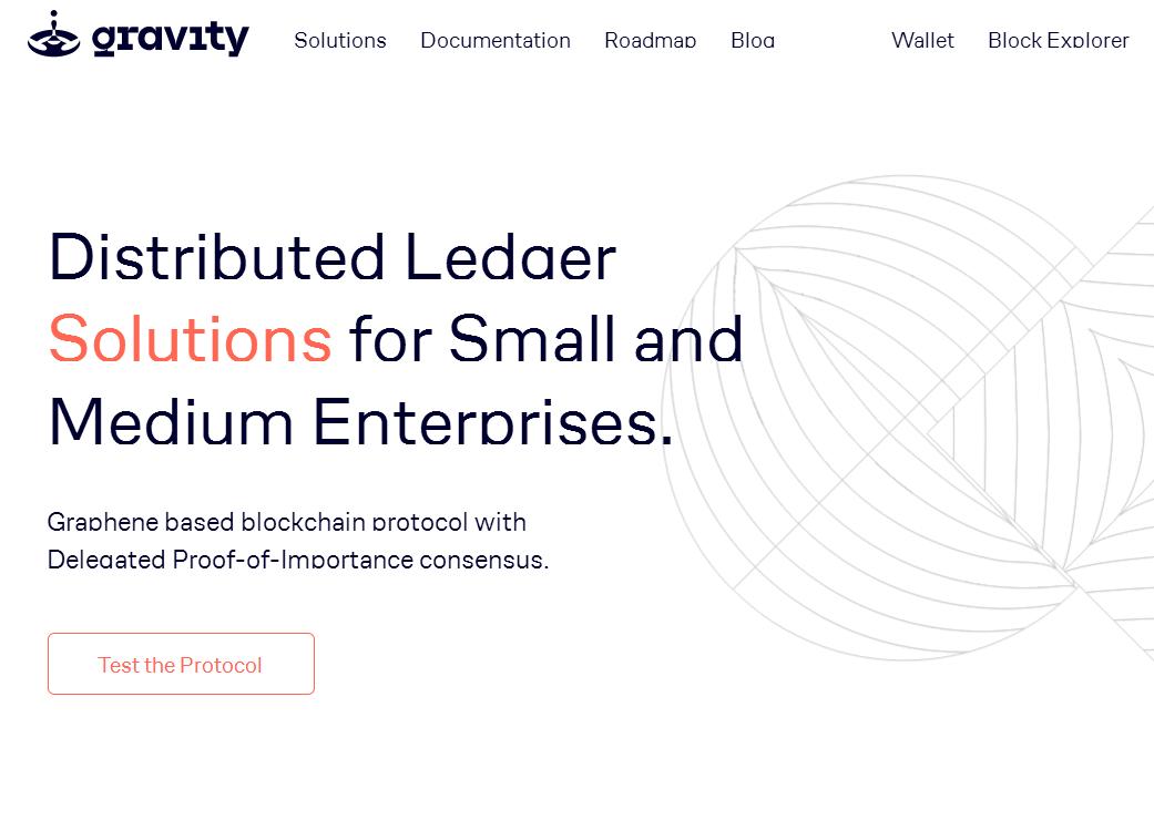 區塊鏈研發公司 Gravity Solutions 為中小企制訂協議和推出公用測試網