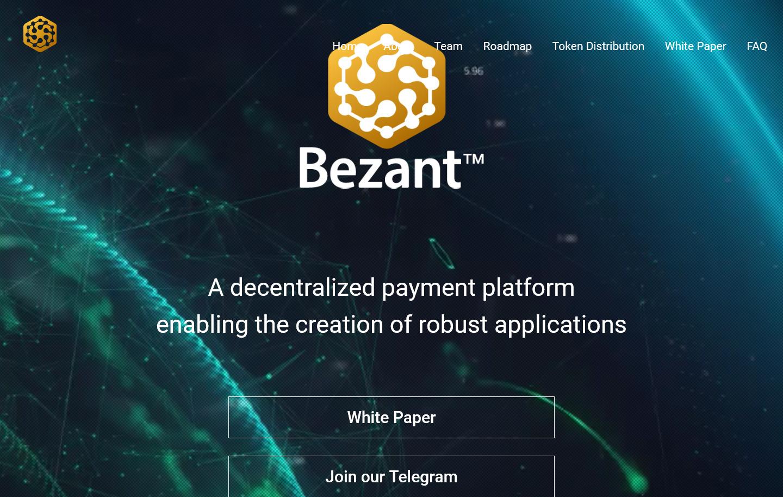 區塊鏈服務平台 Bezant 旗下加密貨幣 BZNT 登陸交易平台 Bibox