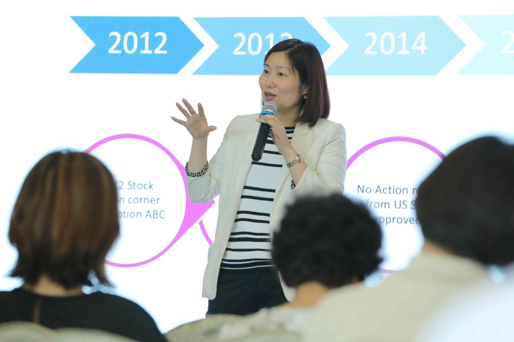「互通金融科技有限公司」(Ix Fintech)創辦人及行政總裁黃愛玲女士