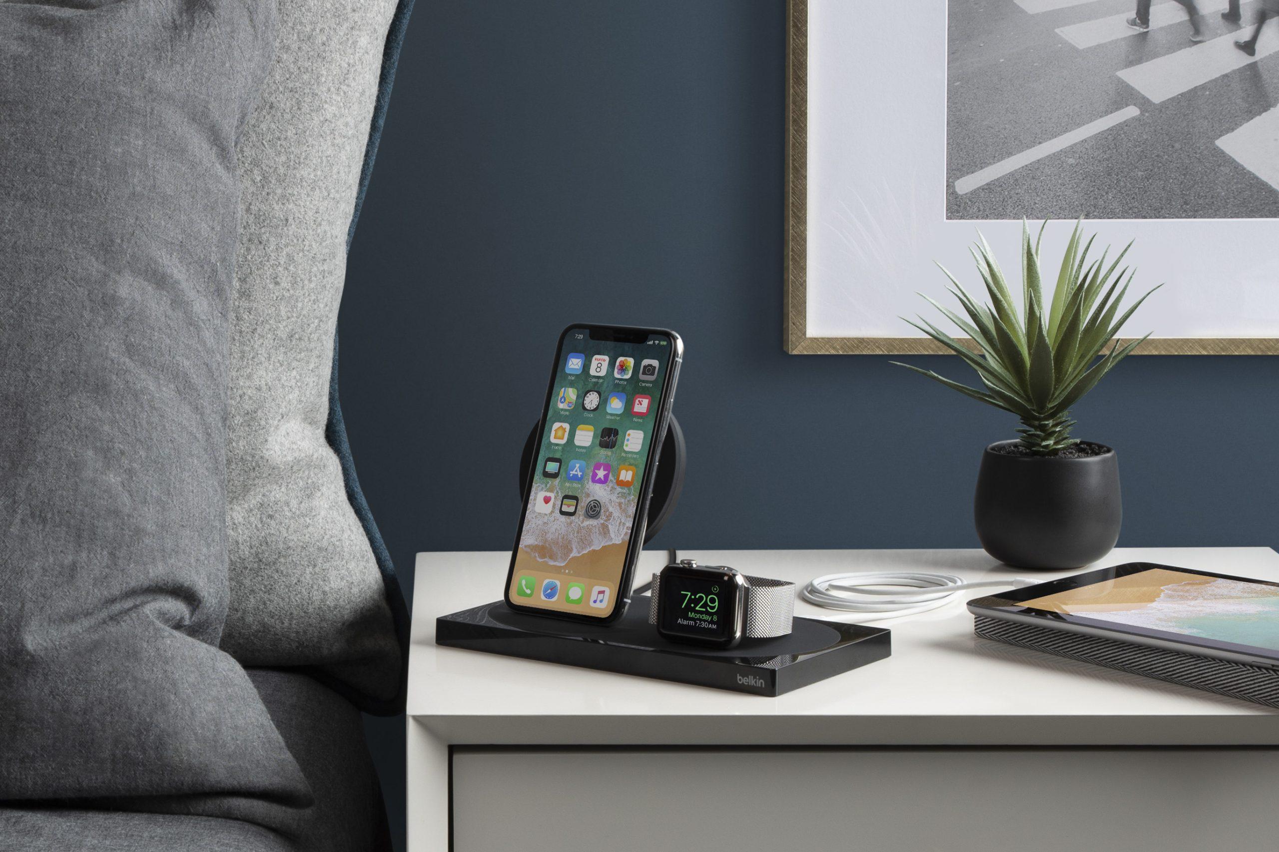 Belkin 最新無線充電底座即將推出!支援 iPhone XS 及 Apple Watch Series 4