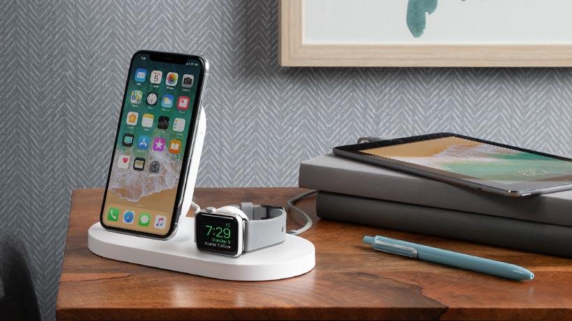 Belkin 推三合一 BOOST↑UP 無線充電底座同時為 iPhone 和 Apple Watch 無線充電