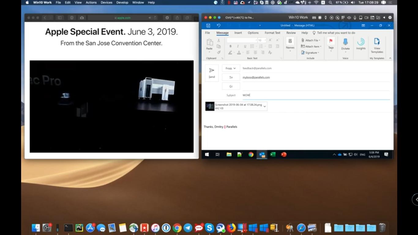 Parallels Desktop 15 正式完整支援 macOS 10.15 Catalina