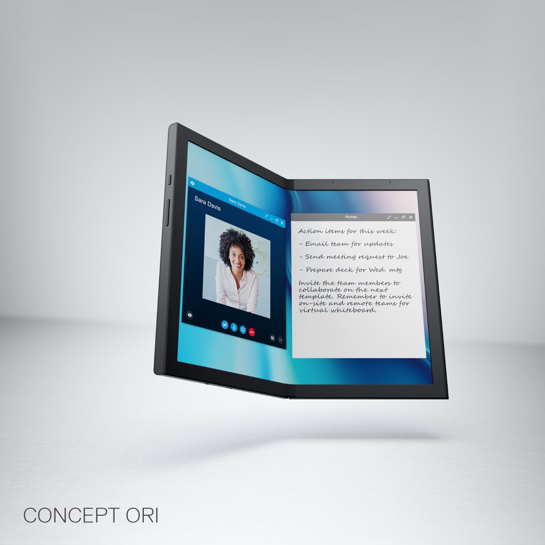 摺疊式屏幕掀潮流,Dell Technologies 預告 Concept Ori 全新系列電腦產品