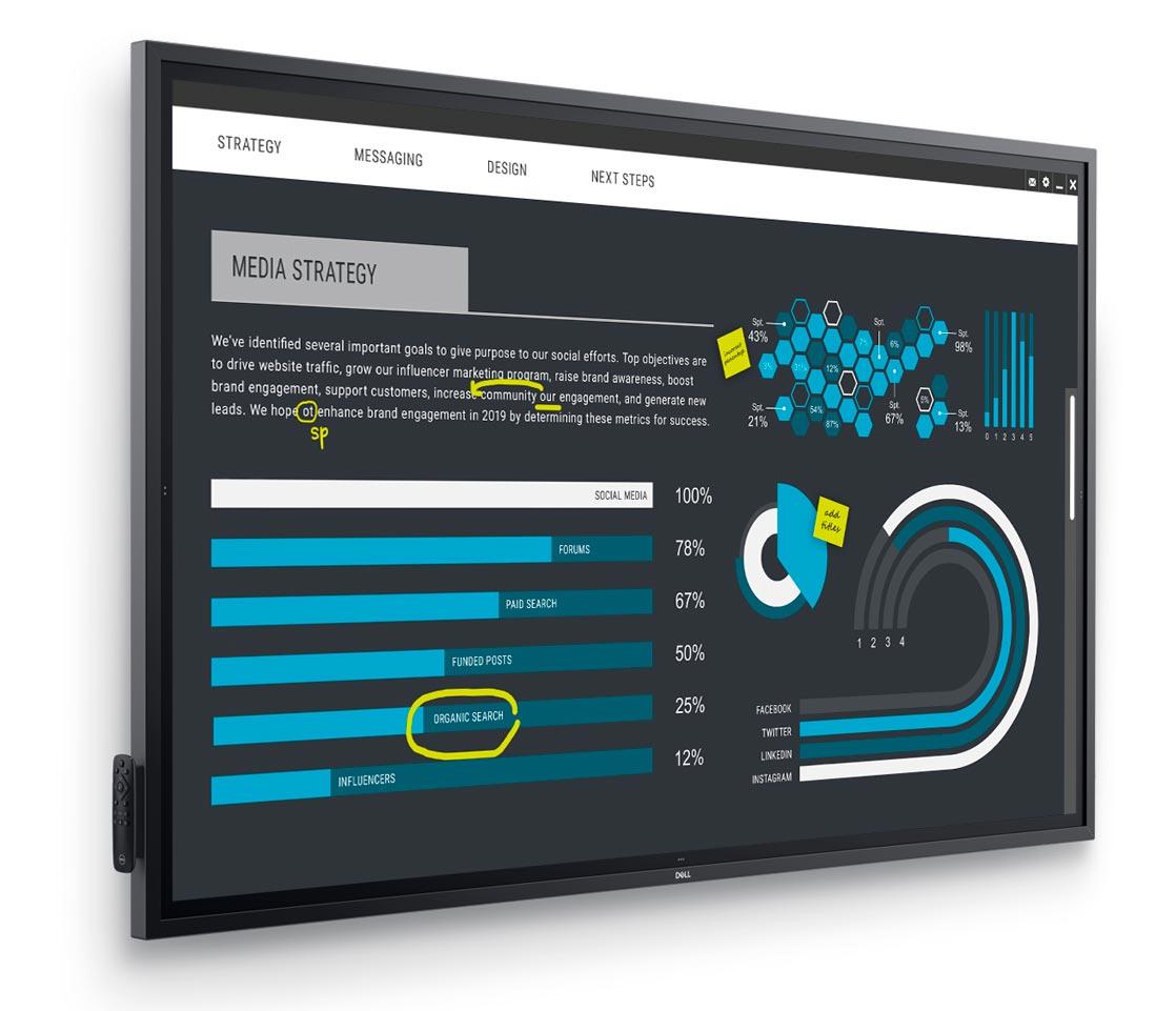 Dell Technologies 推全新顯示器尺吋包括 19 吋至 86 吋