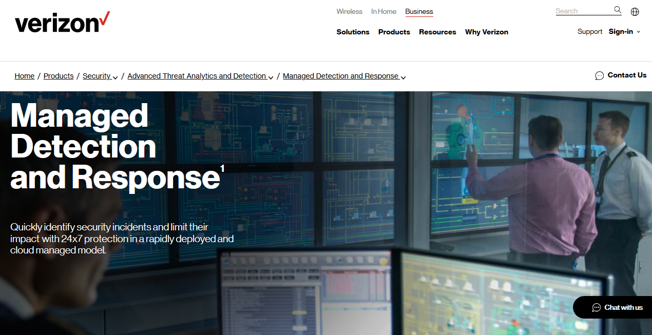 Verizon MDR 推出助機構迅速辨別潛在網絡威脅