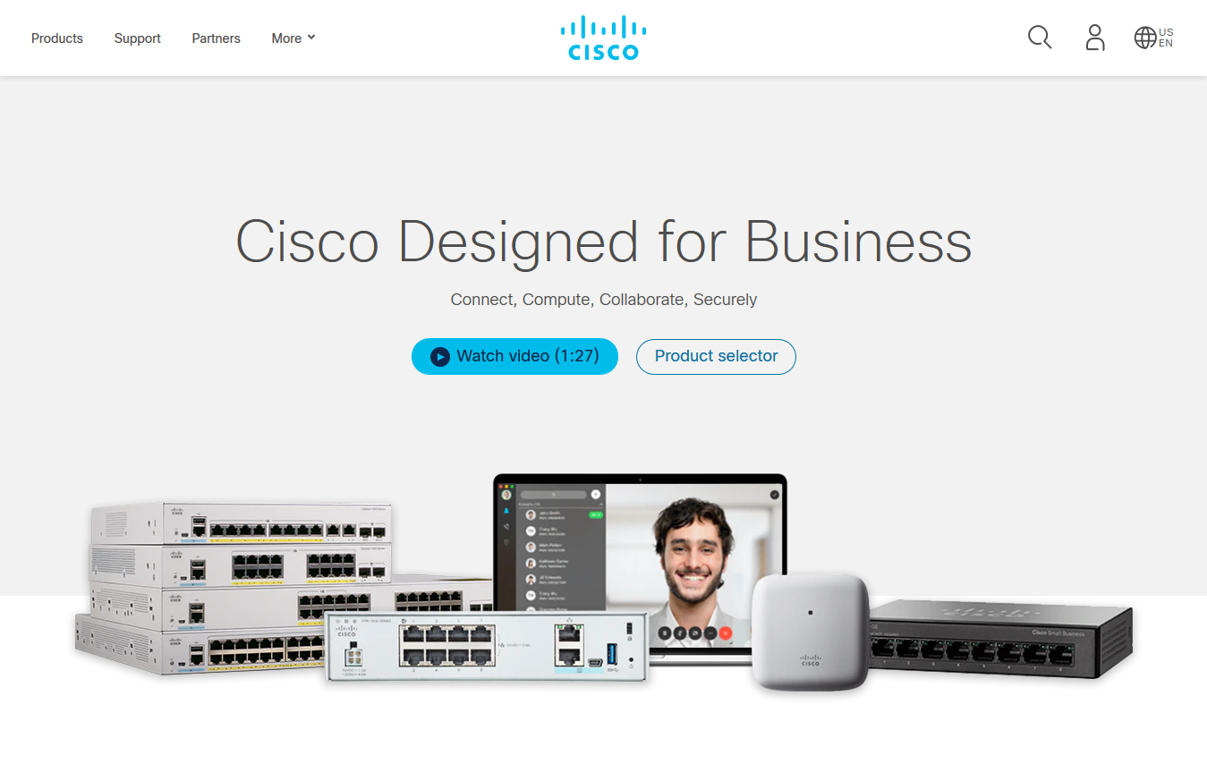 Cisco Designed 商務產品組合推出支援中小型企業