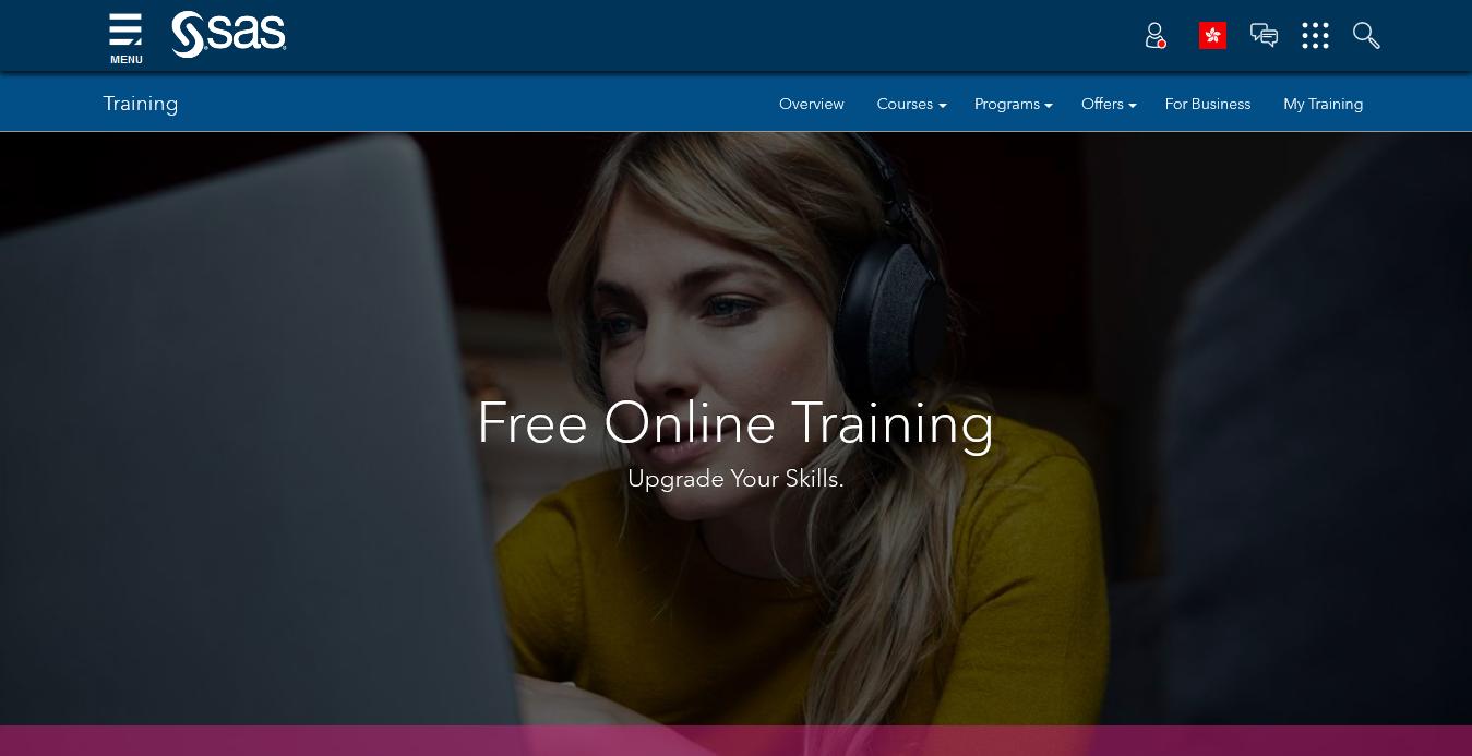 SAS 推免費網上學習資源教授基本編程技巧