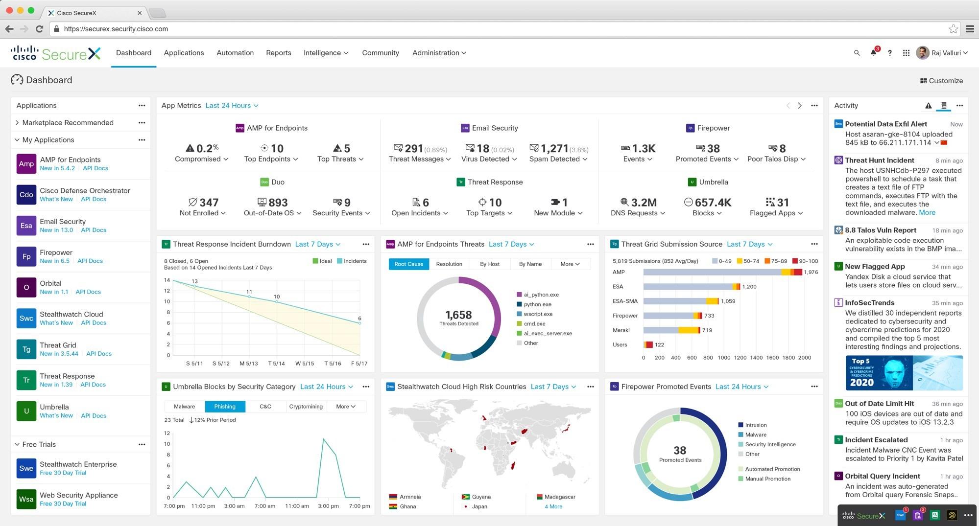 雲端原生保安平台 Cisco SecureX 推出簡化網絡安全部署