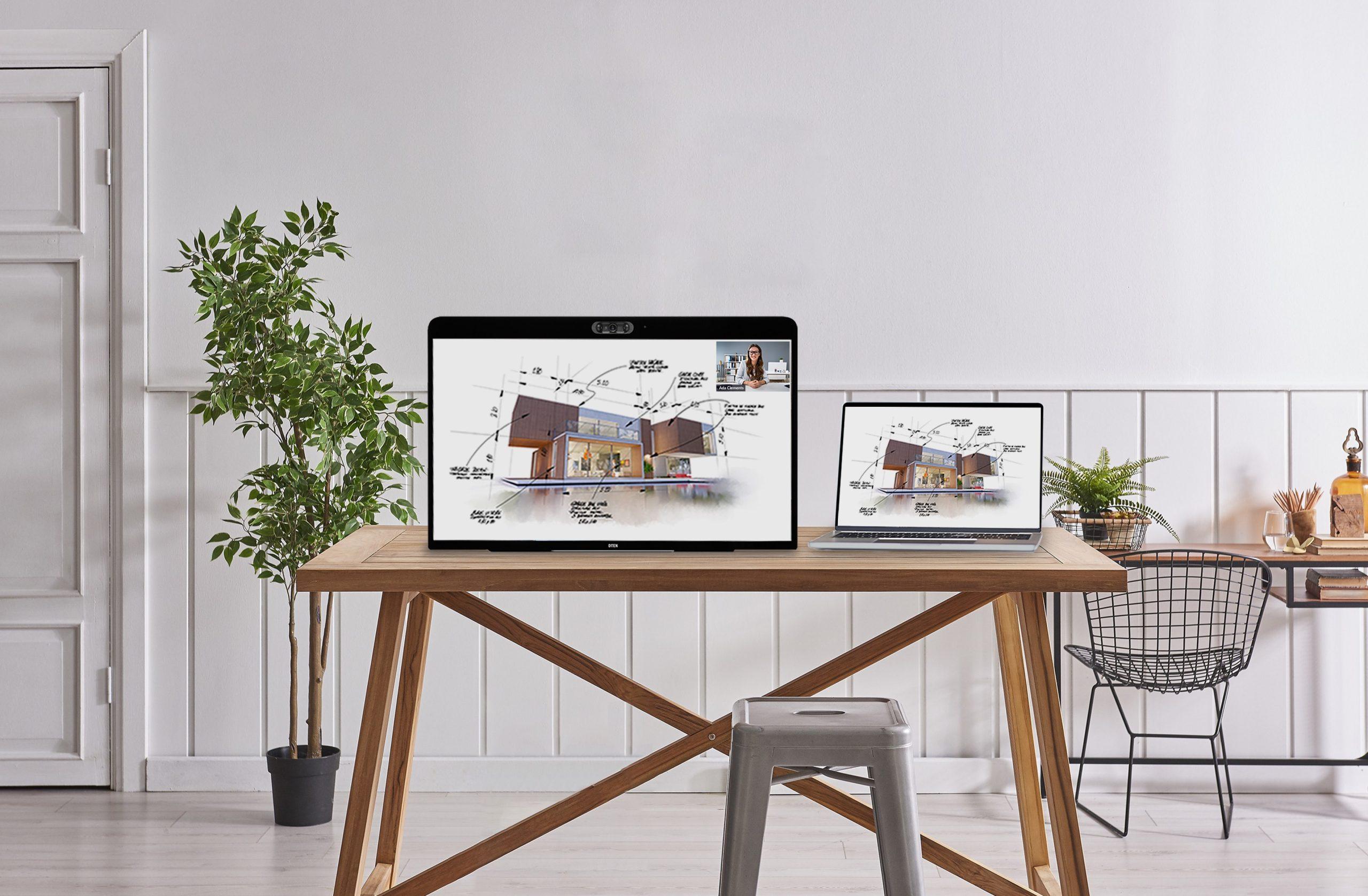 Zoom 推會議置備產品 27 吋裝置結合 3 個高清廣角鏡頭