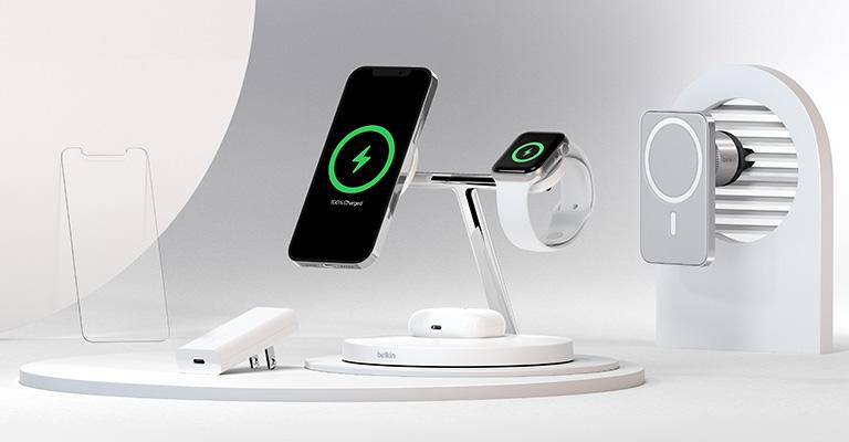 15W 無線充電功率!Belkin iPhone 12 專用 MagSafe 三合一無線充電器推出