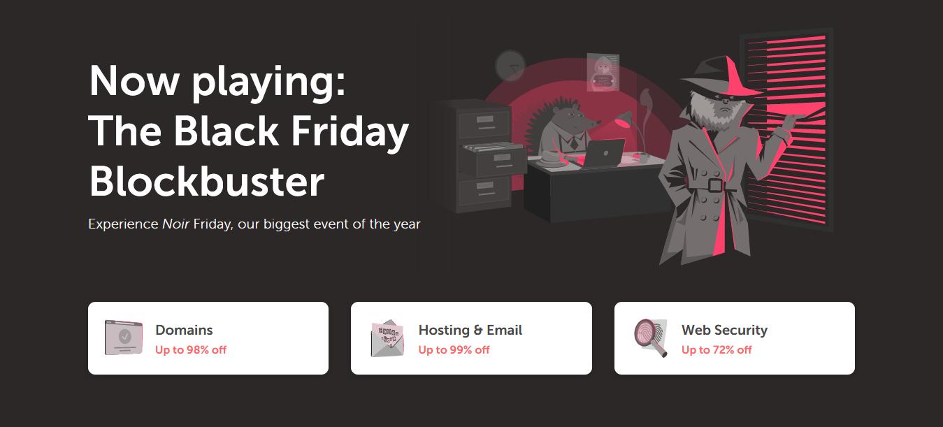 [虛擬空間優惠] 一年不用 9 美元!Namecheap 黑色星期五大優惠!域名、SSL 都減價!