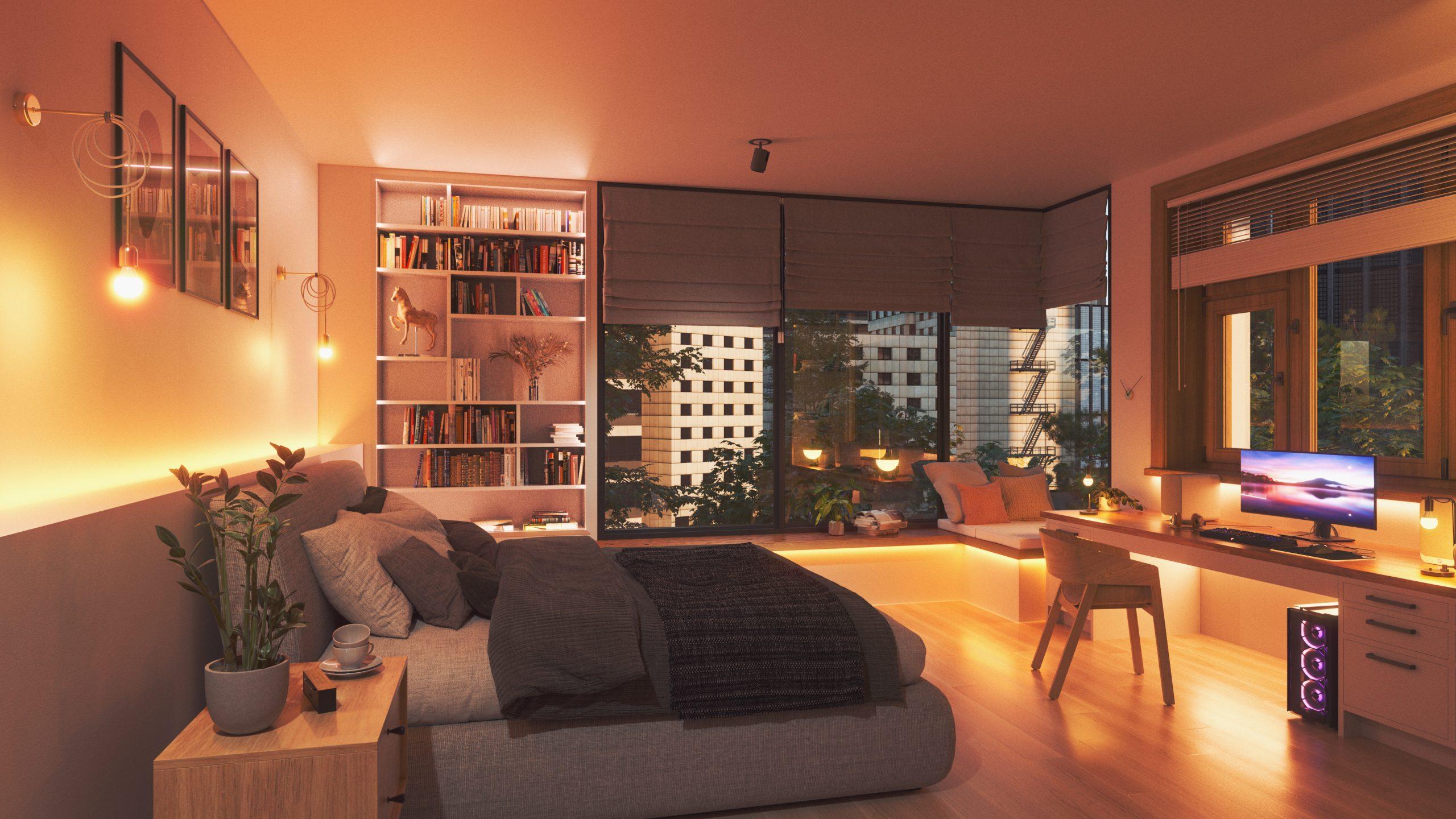 聖誕我「智」燈 Nanoleaf LED 智能變色燈泡及燈條家居辦公浪漫兼得