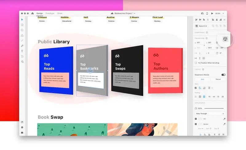 Adobe XD 3D Transforms 功能透析 – 製作炫目立體效果更方便