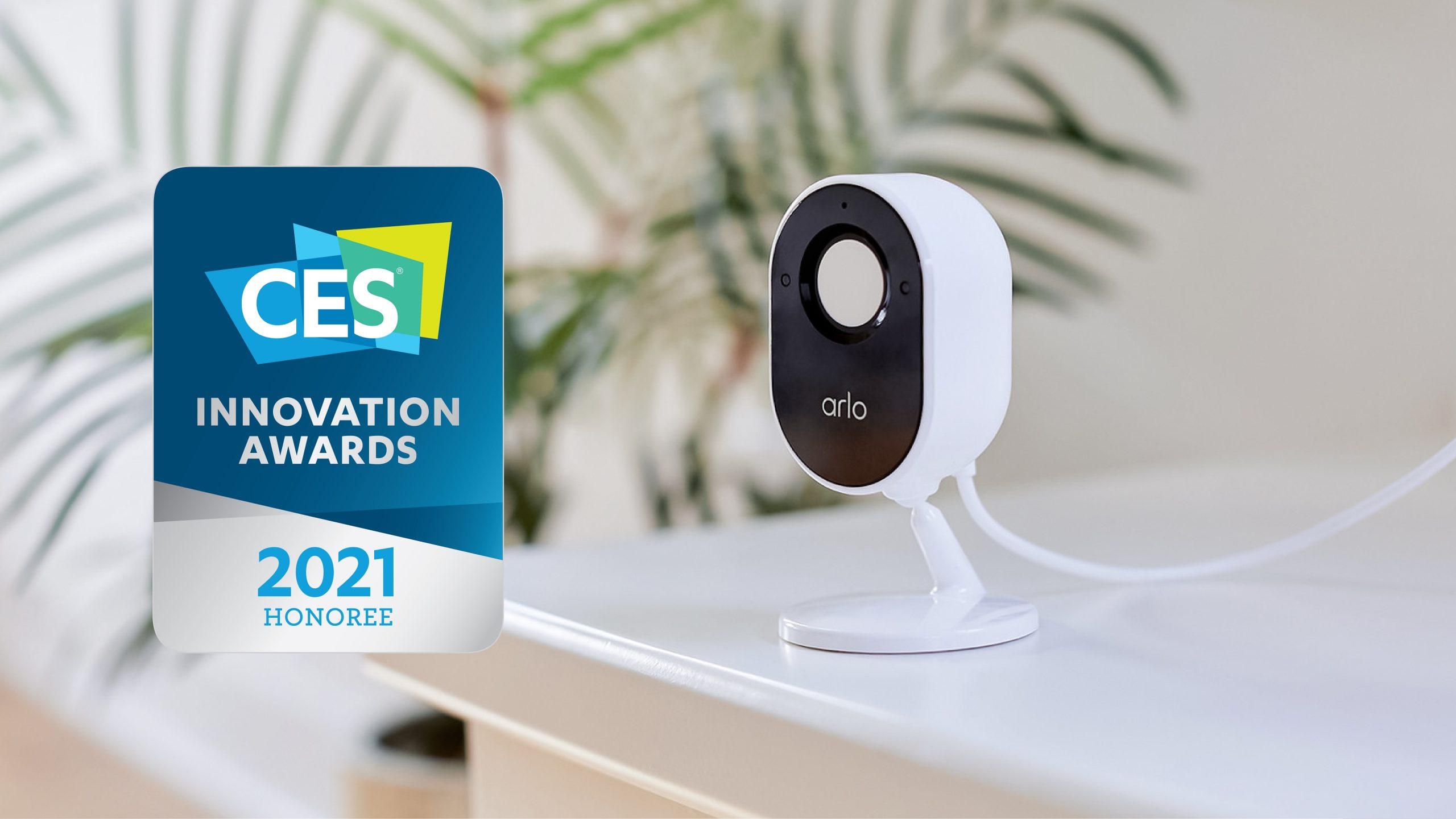 自動保障家居安全 Arlo Essential 室內攝影機內置私隱保護盾