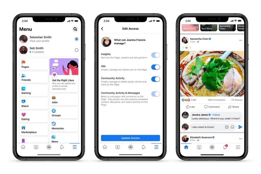 Facebook 專頁介面更新,移除讚好功能新增專用動態消息