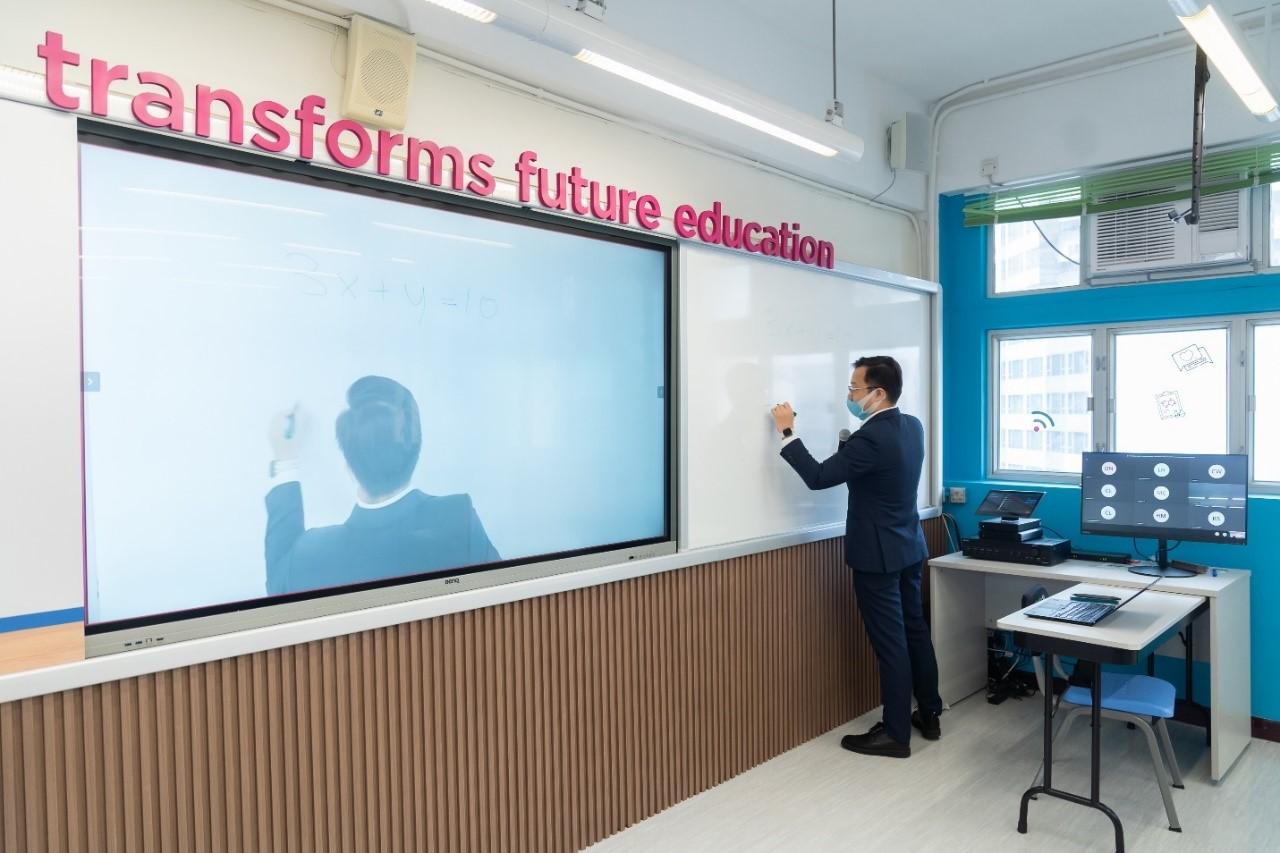 Lenovo 在港推 Smart Classroom 智能混合學習方案,揉合人工智能及大數據