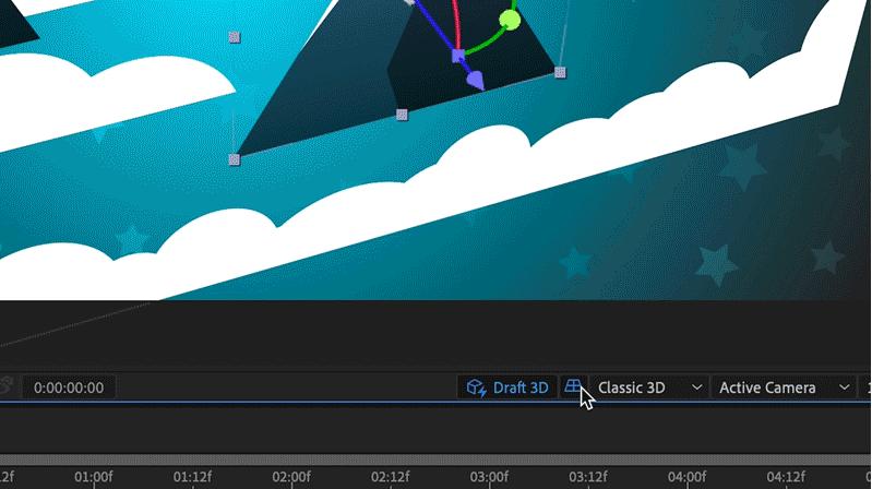 Adobe 影片製作程式更新, After Effects 增 3D 草圖預覽、增強 3D 地平面功能