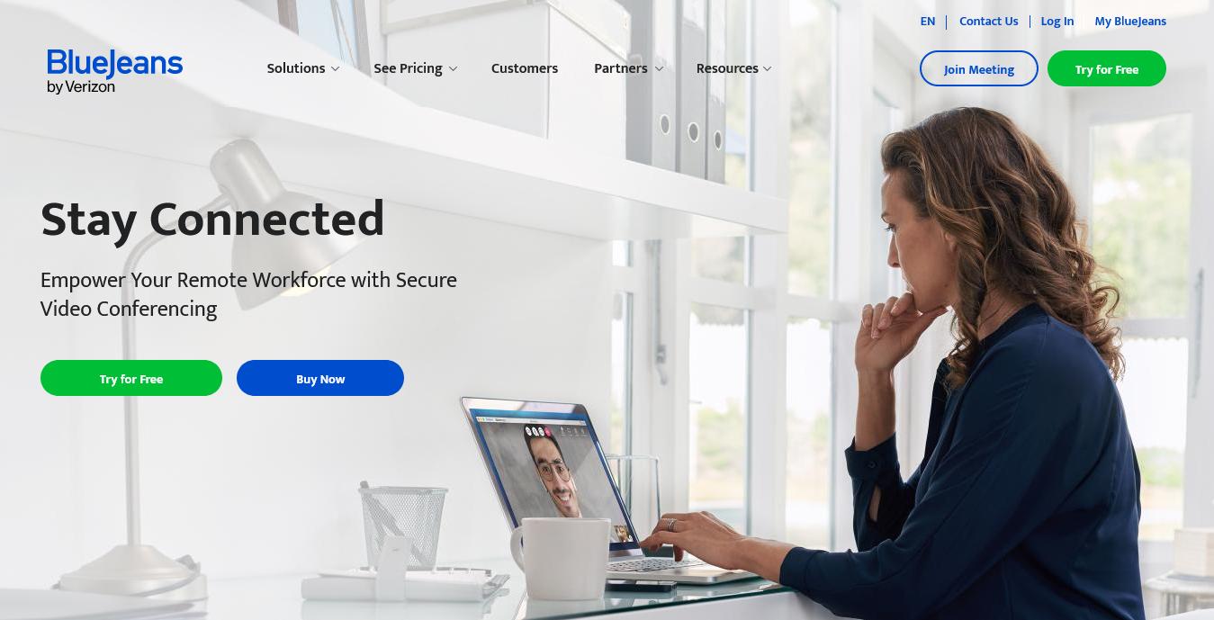 BlueJeans Gateway for Microsoft Teams 更新,支援 1080p 高清視像