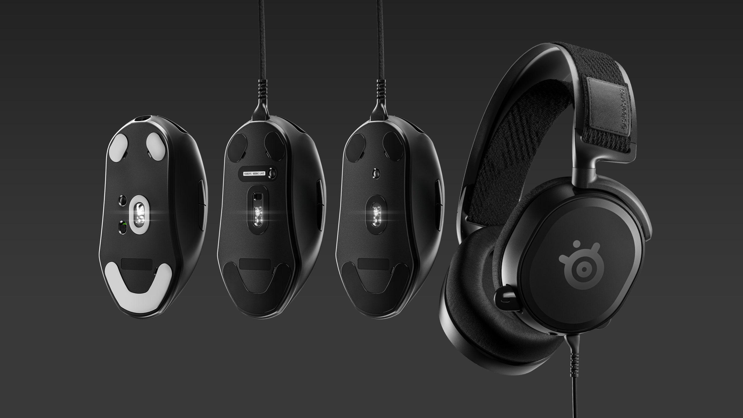 SteelSeries Prime 電競系列推出!滑鼠、耳機產品率先看
