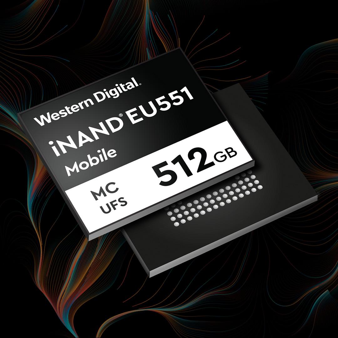 Western Digital 針對 5G 智能手機推出第二代 UFS 3.1