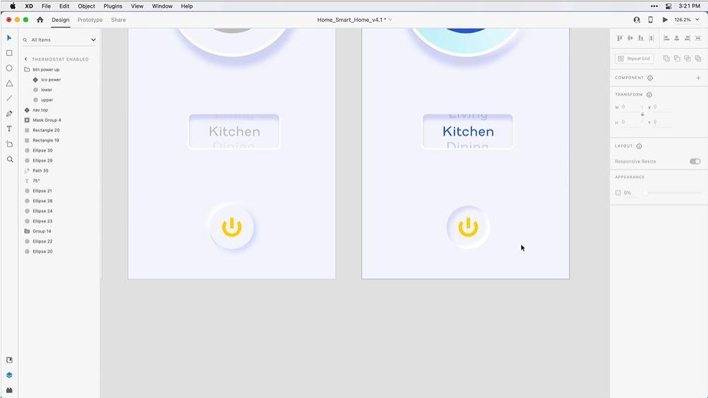 Adobe XD 新增內陰影功能!開發新擬物風格更簡單!